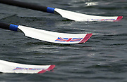 Trakai, LITHUANIA. GBR JW4X. sculls rest on the water,  2002 Junior World Rowing Championships, on Lake Galva Wednesday  07/08/2002 [Mandatory Credit: Peter Spurrier/ Intersport Images].GBR JM4- 200208 Junior World Rowing Championships, Trakai, LITHUANIA