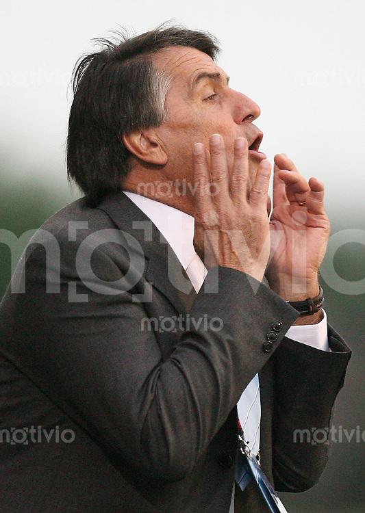 Fussball International U 20 WM  Panama - Argentinien Trainer Hugo TOCALLI (ARG) .