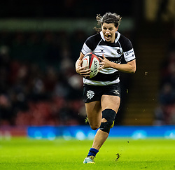 Rebecca Clough of Barbarians<br /> <br /> Photographer Simon King/Replay Images<br /> <br /> Friendly - Wales v Barbarians - Saturday 30th November 2019 - Principality Stadium - Cardiff<br /> <br /> World Copyright © Replay Images . All rights reserved. info@replayimages.co.uk - http://replayimages.co.uk
