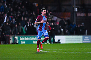 Adam Hammill of Scunthorpe United (47) after making the score 1-1 during the EFL Sky Bet League 1 match between Scunthorpe United and Sunderland at Glanford Park, Scunthorpe, England on 19 January 2019.
