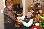 12/4/09 - 3:23:04 PM - SKIPPACK, PA: Carolyn & Michael,  December 4, 2009 in Skippack, Pennsylvania. (Photo by William Thomas Cain/cainimages.com)