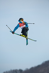 February 18, 2018 - Pyeongchang, South Korea - CHRISTIAN NUMMEDAL of Norway competes in the Mens Ski Slopestyle competition Sunday, February 18, 2018 at Phoenix Snow Park at the Pyeongchang Winter Olympic Games.  Photo by Mark Reis, ZUMA Press/The Gazette (Credit Image: © Mark Reis via ZUMA Wire)