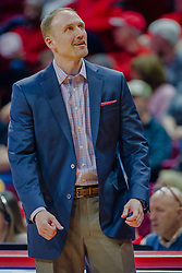 NORMAL, IL - February 05: Dan Muller during a college basketball game between the ISU Redbirds and the Valparaiso Crusaders on February 05 2019 at Redbird Arena in Normal, IL. (Photo by Alan Look)