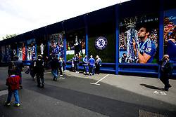 General View outside the ground as Chelsea fans arrive - Rogan Thomson/JMP - 21/05/2017 - FOOTBALL - Stamford Bridge - London, England - Chelsea v Sunderland - Premier League..