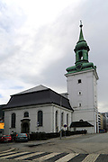 Historic Nykirken church, city of Bergen, Norway Bergen, Norway