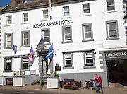 Historic Kings Arms hotel in Berwick-upon-Tweed, Northumberland, England, UK