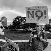 Missouri Proposition Protest and Counter-Protest. 59