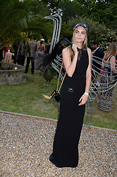 CARA DELEVINGNE at The Animal Ball in aid of The Elephant Family held at Lancaster House, London on 9th July 2013.