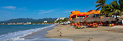 Beach, Bucerias, Banderas Bay, Riviera Nayarit, Nayarit, Mexico