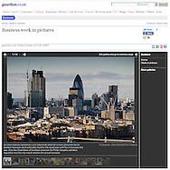 The City of London Skyline / Guardian.co.uk / October 2010