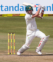 Durban. 040318. Pat Cummins of Australia during day 4 of the 1st Sunfoil Test match between South Africa and Australia at Sahara Stadium Kingsmead on March 03, 2018 in Durban, South Africa. Picture Leon Lestrade/African News Agency/ANA