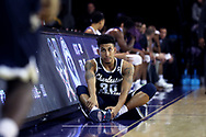 HIGH POINT, NC - JANUARY 06: Charleston Southern's Sean Price. The High Point University of Panthers hosted the Charleston Southern University Buccaneers on January 6, 2018 at Millis Athletic Convocation Center in High Point, NC in a Division I men's college basketball game. HPU won the game 80-59.