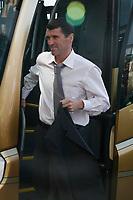 Roy Keane arrives at Pride Park before the Sunderland v Derby County game