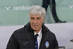 May 19, 2019 - Turin, Turin, Italy - Gian Piero Gasperini, head coach of  Atalanta BC during the Serie A match at Allianz Stadium, Turin (Credit Image: © Antonio Polia/Pacific Press via ZUMA Wire)