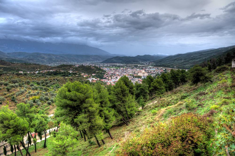 At the castle in Berat