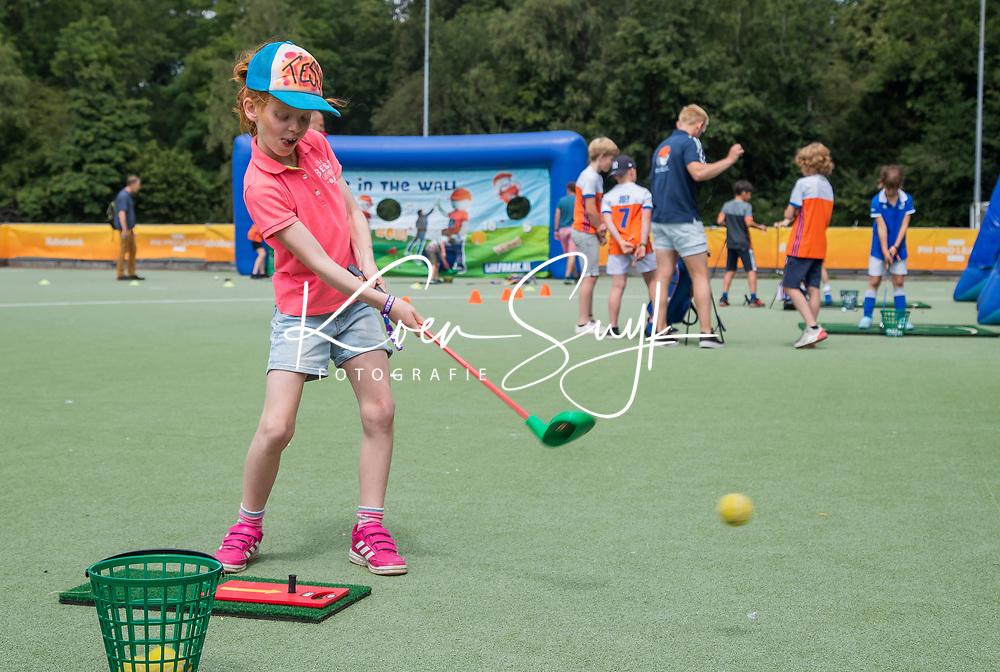AMSTELVEEN  - NGF Golfraak, als side event bij de Pro League hockey finals.   .  COPYRIGHT KOEN SUYK