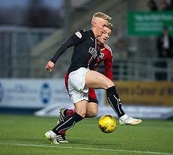Falkirk's Craig Sibbald. Falkirk 1 v 1 Ayr United, Scottish Championship game played 14/1/2017at The Falkirk Stadium .
