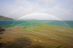 Rainbow over Lake Arenal, Alajuela Province, Costa Rica