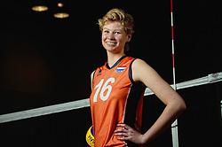 07-04-2014 NED: SELECTIE JONG ORANJE: ARNHEM<br /> Volleybalteam Jong Oranje / Marjolijn Oskam<br /> ©2014-FotoHoogendoorn.nl