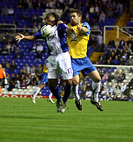 Photo: Mark Stephenson.<br /> Birmingham City v Hereford United. Carling Cup. 28/08/2007.Birmingham's Neil Danns