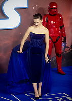 Daisy Ridley at the 'Star Wars: The Rise of Skywalker' film premiere, London, UK - 18 Dec 2019