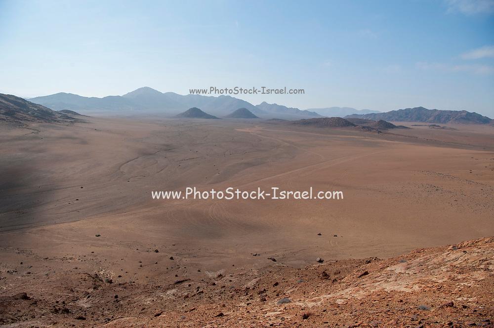 Harsh Namibian desert landscape, Namibia