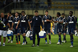 Dinamo's players after 1st football game of 2nd Qualifying Round for UEFA Champions league between NK Domzale vs HNK Dinamo Zagreb, on July 30, 2008, in Domzale, Slovenia. Dinamo won 3:0. (Photo by Vid Ponikvar / Sportal Images)