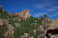 """""""Pipe Organ Rock"""" staging the vista situated just beyond the Shaft House."""