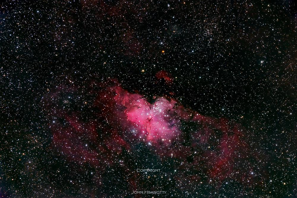 M 16, the Eagle Nebula and Trumpler 32