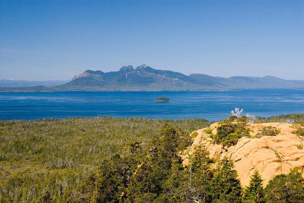 Alaska. Annette Island, Metlakatla ,Inside Passage.