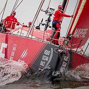 © Maria Muina I MAPFRE. Cardiff In port race. Regata costera en Cardiff.