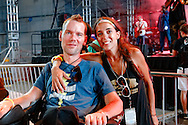 Steve and Michel Gleason at Gleason Gras, benefiting The Gleason Family Trust, at Champions Square on September 6, 2013.