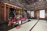 altar at the Daigyoji Temple in Kamakura Japan