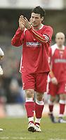 Photo: Aidan Ellis.<br /> Grimsby Town v Swindon Town. Coca Cola League 2. 17/03/2007.<br /> Swindon's Lee Peacock