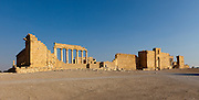 Temple of Bel, Palmyra, Syria. Ancient city in the desert that fell into disuse after the 16th century.