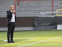 Cheftræner Albert Capellas (Danmark) under U21 EM2021 Kvalifikationskampen mellem Danmark og Ukraine den 4. september 2020 på Aalborg Stadion (Foto: Claus Birch).