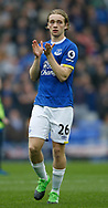 Tom Davies of Everton during the English Premier League match at Goodison Park Stadium, Liverpool. Picture date: April 9th 2017. Pic credit should read: Simon Bellis/Sportimage