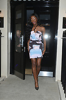 AJ Odudu  at the  Boux Avenue Summer Launch Party at the Haymarket Hotel, Londonphoto by brian jordan
