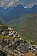 Ruins of the lost city of Machu Picchu. Located in the region of Cusco in Peru. Now is one the new seven wonders of the modern world.