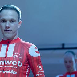 10-12-2019: Wielrennen: Teampresentatie Sunweb: Amsterdam <br />Nikias Arndt