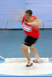 Men athlete in the Shot Put men Qualification at the 2nd day of  European Athletics Indoor Championships Torino 2009 (6th - 8th March), at Oval Lingotto Stadium,  Torino, Italy, on March 6, 2009. (Photo by Vid Ponikvar / Sportida)
