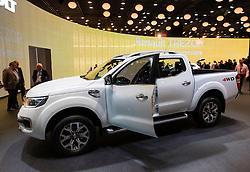 World premiere of Renault Alaskan pick up truck at Paris Motor Show 2016