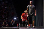 LAS VEGAS, NV - JULY 8:  Anderson Silva walks to the scale during the UFC 200 weigh-ins at T-Mobile Arena on July 8, 2016 in Las Vegas, Nevada. (Photo by Cooper Neill/Zuffa LLC/Zuffa LLC via Getty Images) *** Local Caption *** Anderson Silva