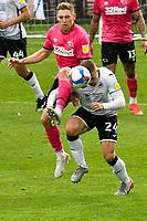 Football - 2020 / 2021 Sky Bet Championship - Swansea City vs Derby County - Liberty Stadium<br /> <br /> & Jake Bidwell Swansea City<br /> <br /> COLORSPORT/WINSTON BYNORTH
