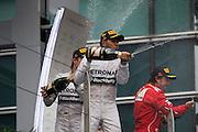 April 20, 2014 - Shanghai, China. UBS Chinese Formula One Grand Prix. Lewis Hamilton (GBR), Mercedes Petronas