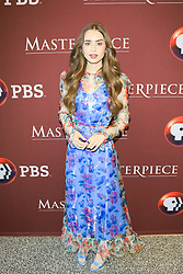 Les Miserables Photo Call at Linwood Dunn Theater NON-EXCLUSIVE June 8, 2019. 08 Jun 2019 Pictured: Lily Collins. Photo credit: gotpap/Bauergriffin.com / MEGA TheMegaAgency.com +1 888 505 6342