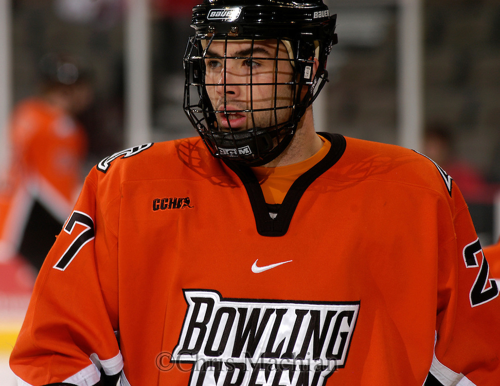3/3/06 -- Omaha, Ne.Bowling Green's Alex Foster  at the Qwest Center Omaha. (Photo by Chris Machian/Prarie Pixel Group).