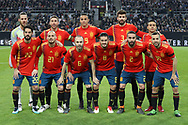 Team Spain during the International Friendly Game football match between Germany and Spain on march 23, 2018 at Esprit-Arena in Dusseldorf, Germany - Photo Laurent Lairys / ProSportsImages / DPPI