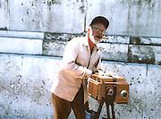 2000 August- Havana, Cuba- ' A Man and his Camera ' in Old Havana, Cuba