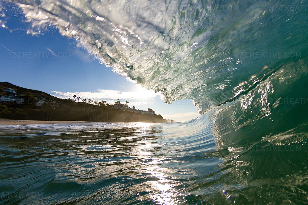 Early morning water shot of a breaking wave at Aliso Creek. Photo © Robert Zaleski / rzcreative.com<br /> —<br /> To license this image contact: robert@rzcreative.com
